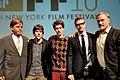 Aaron Sorkin - Jesse Eisenberg - David Fincher - Andrew Garfield - Justin Timberlake - The Social Network - 2010 New York Film Festival - 01.jpg