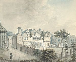 John Ingleby (painter) - Image: Abervechan front, 1796