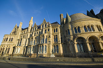 University of Wales - University College Wales (now Aberystwyth University) was the oldest founding member of the University of Wales