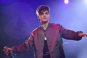 Abraham Mateo - Mateo performing in Valladolid during his Are You Ready? Tour in May 2016
