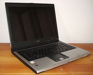 Open Acer Aspire 5601 notebook