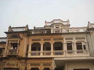 Narendra Deva - Acharya Narendra Dev's Family Mansion in Faizabad, UP