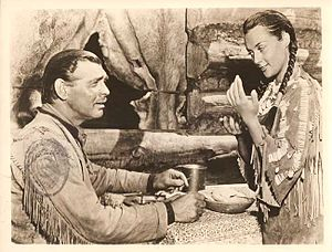 Across the Wide Missouri (film) - Clark Gable and María Elena Marqués in Across the Wide Missouri