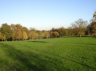 Acton, Wrexham - The historic Acton Park, November 2005.