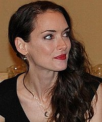 Winona Ryder Actress Winona Ryder at a press conference for Frankenweenie 2012 (cropped).jpg
