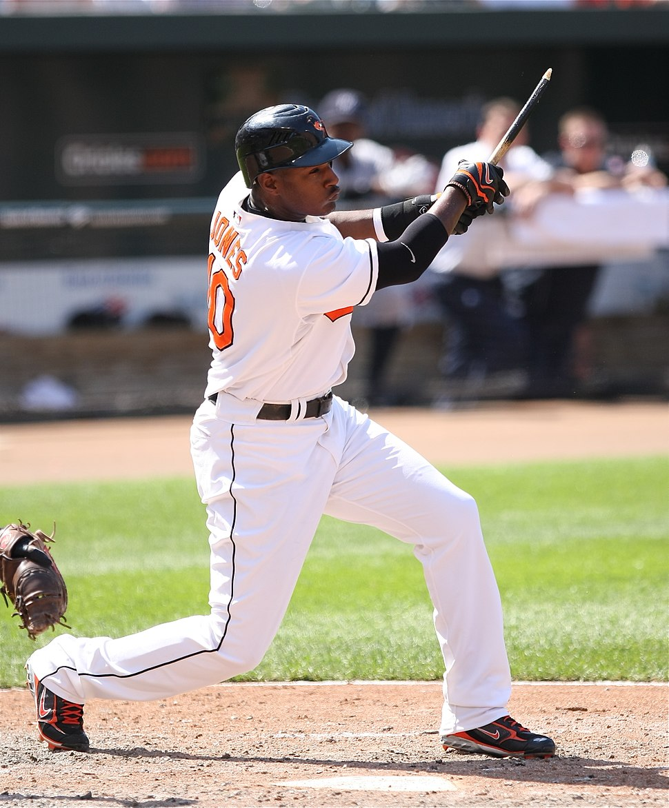 Adam Jones baseball