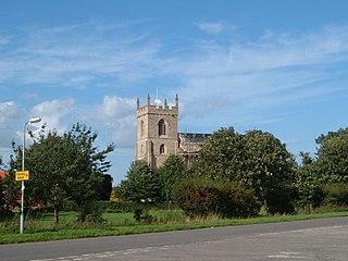 Addlethorpe village in the United Kingdom