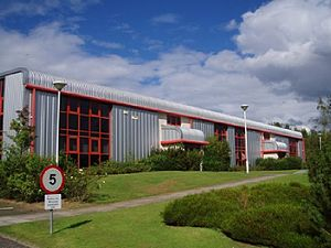 Silicon Glen - Swiss electronics company Micronas have a large site in Glenrothes