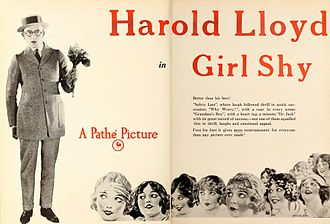 Girl Shy - Advertisement from Motion Picture News
