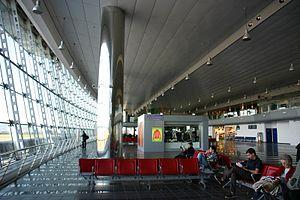 Turin Airport - Departures area