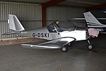 Aerotechnik EV-97 Eurostar 'G-DSKI' (44553452294).jpg