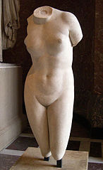 Torso of the Cnidus Aphrodite type