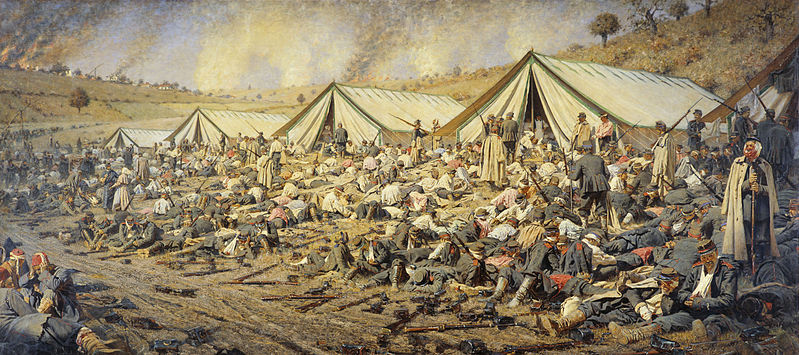 File:After the attack. Plevna, 1877-1878.jpg