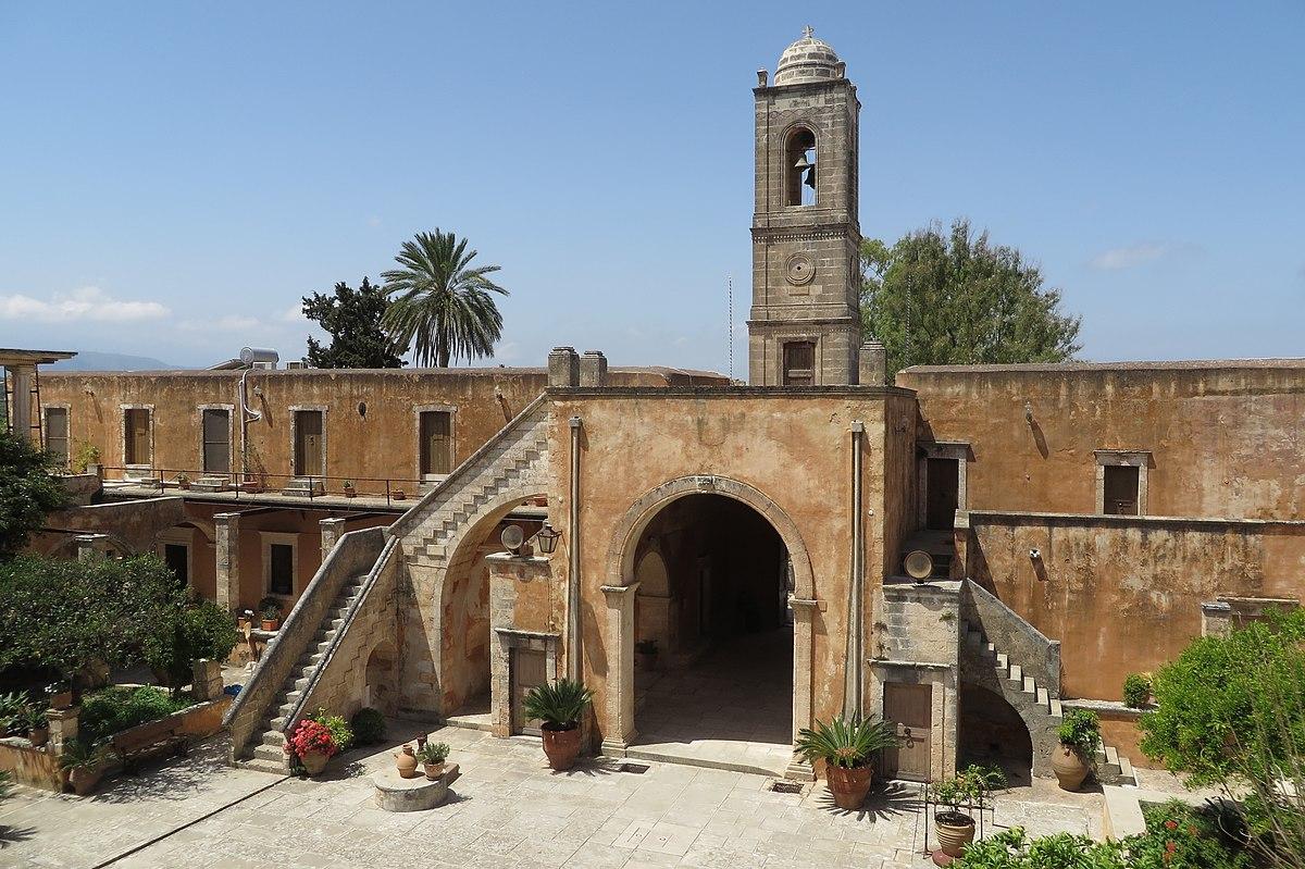 Agia Triada Monastery - Wikipedia