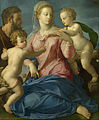 Agnolo Bronzino - The Holy Family with the Infant Saint John the Baptist (Madonna Stroganoff) - Google Art Project.jpg