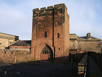 Listed buildings in Chester Castle parish - Image: Agricola Tower