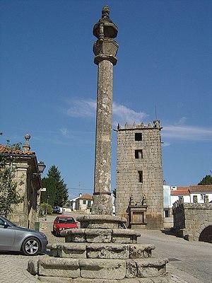 Aguiar da Beira (freguesia) - The Pillory of Aguiar da Beira.