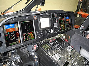 AgustaWestland AW139 - Instrument panel of the AW139