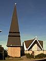 Ahrbergen Kirche Maria mit Turm.JPG