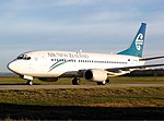 Air New Zealand Boeing 737-300 MEL Lanting.jpg