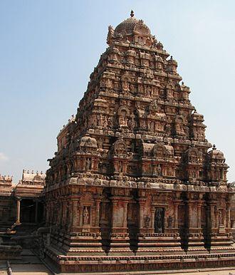 Darasuram - Airavateshwarar temple gopuram