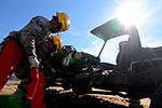 Aircraft recovery team trains with reclamation equipment 141108-Z-NI803-175.jpg