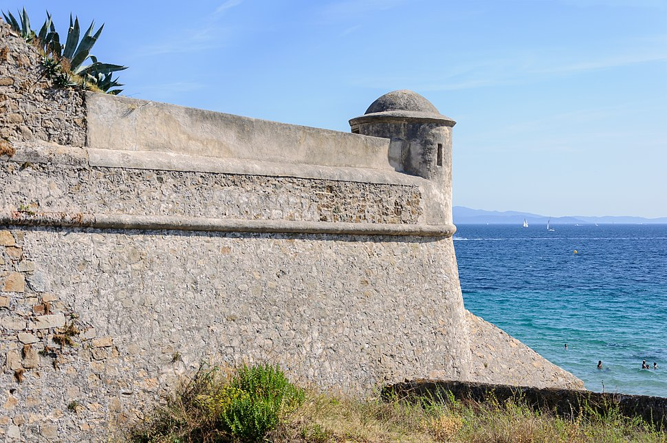 Ajaccio citadelle echauguette