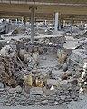 Akrotiri Archeological Excavation Pithoi store room 08.jpg