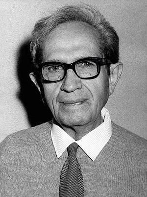 Albert Claude - Albert Claude in 1974