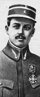 Albert Louis Deullin French flying ace