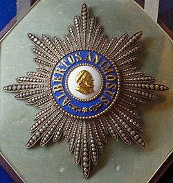 Albert Order grand cross star (Saxony 1850-1876) - Tallinn Museum of Orders.jpg