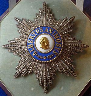 Albert Order - Grand Cross Star of the order