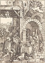 Albrecht Dürer, The Adoration of the Magi, c. 1501-1503, NGA 6704.jpg
