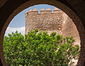 Alcazaba, gate, tower, Almeria, Spain.jpg