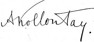 Alexandra Kollontai - Image: Aleksandra Kollontaj signatur