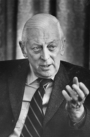 Alistair Cooke - Cooke during an interview in 1974