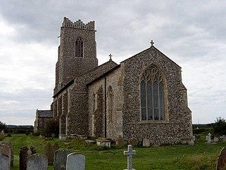 Walcott, Norfolk - All Saints, Walcott.