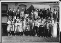 """All are workers in Knoxville Knitting Mills. Smallest boy """"ravels"""", smallest girl is a steady worker. Knoxville, Tenn. - NARA - 523371.tif"""