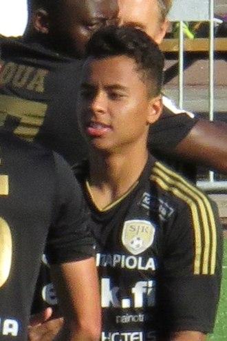 Allan (footballer, born 1997) - Allan with SJK in 2015
