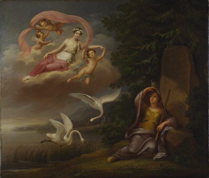 File:Allegori över kronprinsessan Josefinas ankomst till Sverige (Fredric Westin) - Nationalmuseum - 16225.tif
