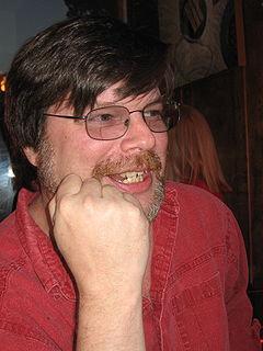 Allen Steele US science fiction author