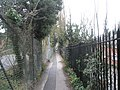 Alleyway from QA hospital to London Road - geograph.org.uk - 666412.jpg