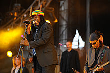 Alpha Blondy at Solidays Festival, (Longchamp Racecourse), France, 2008
