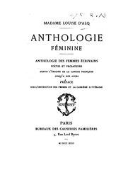 Louise Alquié de Rieupeyroux: Anthologie féminine