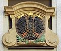 Alte Gasse 5, Wappen des ehemaligen kaiserlichen Postamtes.jpg