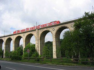Hamm–Warburg railway - Altenbeken Viaduct