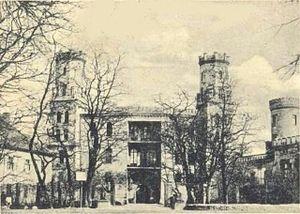 Świerklaniec - Old Castle, about 1900