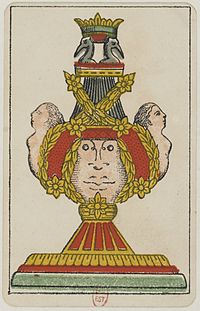 Aluette card deck - Grimaud - 1858-1890 - Ace of Cups.jpg