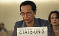 Ambassador Betty E. King at the Human Rights Council Universal Periodic Review of Syria's Human Rights Record, October 7, 2011.jpg