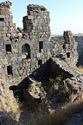 Amberd Fortress Interior Walls 3.JPG